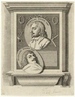 Nicholas Stone Sr and Nicholas Stone Jr, by Thomas Chambers (Chambars) - NPG D28341