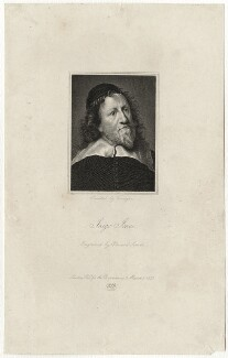 Inigo Jones, by Edward A. Smith, after  Sir Anthony van Dyck - NPG D28350