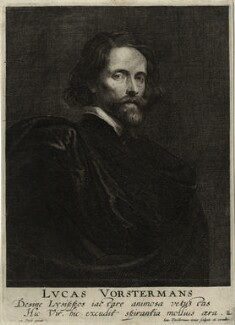 Lucas Vorsterman, by Lucas Vorsterman the Younger, after  Sir Anthony van Dyck - NPG D28351