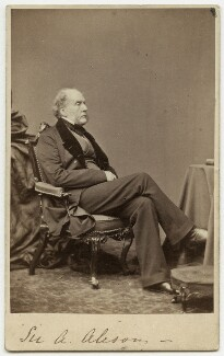 Sir Archibald Alison, 1st Bt, by William White - NPG x42