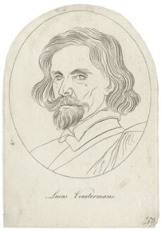 Lucas Vorsterman, after Sir Anthony van Dyck - NPG D28353