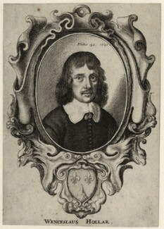 Wenceslaus Hollar, by Wenceslaus Hollar - NPG D28357