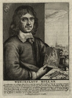 Wenceslaus Hollar, by Wenceslaus Hollar, after  Johannes Meyssens - NPG D28360