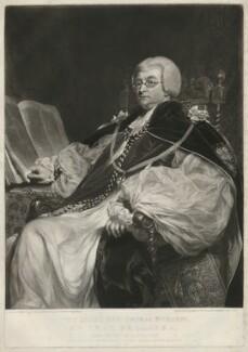 Thomas Burgess, by Samuel William Reynolds, after  William Owen, published 1825 - NPG D32410 - © National Portrait Gallery, London