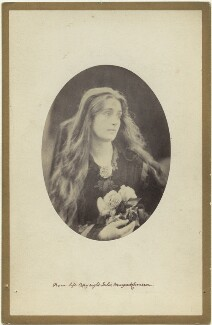Eleanor Maud Tennyson, by Julia Margaret Cameron - NPG x18059