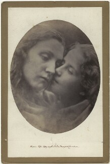 Mary Ann Hillier and an unknown girl, by Julia Margaret Cameron - NPG x18056