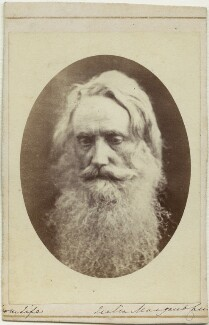 Sir Henry Taylor, by Julia Margaret Cameron, 1865 - NPG x18077 - © National Portrait Gallery, London