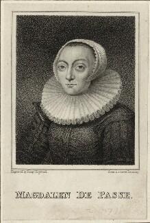 Magdalena de Passe, by Fanny Hopwood - NPG D28379