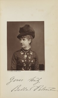 Isabella ('Bella') Pateman, probably by Lock & Whitfield, published by  Wyman & Sons - NPG Ax129590