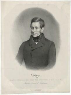 Sir John Fox Burgoyne, 1st Bt, by John Samuelson Templeton, after  George Francis Mulvany - NPG D32418