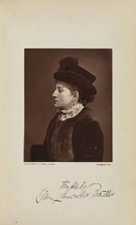 Ellen Lancaster Wallis (Mrs Walter Reynolds), by Lock & Whitfield, published by  Wyman & Sons - NPG Ax129592
