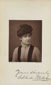 Adelaide Neilson, by Lock & Whitfield, published by  Wyman & Sons - NPG Ax129594