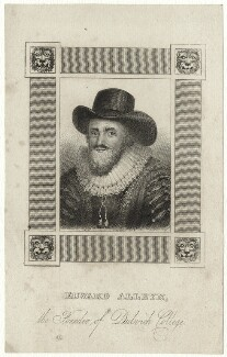 Edward Alleyn, after Unknown artist - NPG D28386