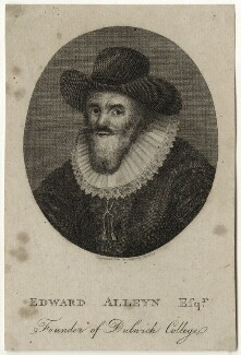 Edward Alleyn, after J. Wooding - NPG D28389
