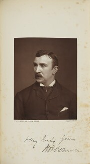 W.H. Vernon, probably by Lock & Whitfield, published by  Wyman & Sons - NPG Ax129601