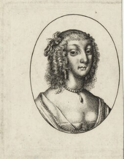 Aletheia Talbot, Countess of Arundel, possibly by Wenceslaus Hollar - NPG D28396