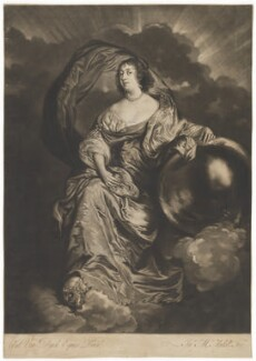 Rachel Wriothesley (née de Massüe), Countess of Southampton, by James Macardell, after  Sir Anthony van Dyck - NPG D28403