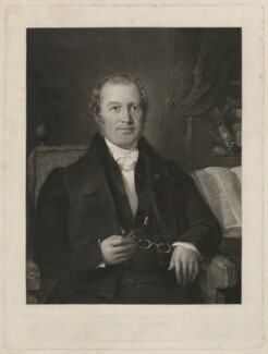 John Burnet, by Samuel Bellin, after  George Lance - NPG D32428