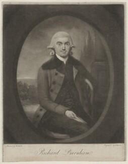 Richard Burnham, by John Dean, after  W. Smith - NPG D32435