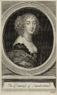 Dorothy Spencer (née Sidney), Countess of Sunderland, after Sir Anthony van Dyck, 1711 - NPG D28409 - © National Portrait Gallery, London