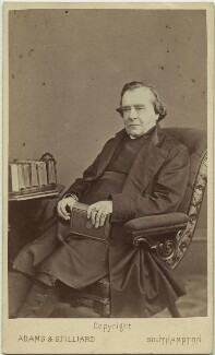 Samuel Wilberforce, by Adams & Stilliard - NPG x27387