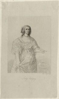 Katherine Livingston (née Howard), Viscountess Newburgh, by Robert Cooper - NPG D28425
