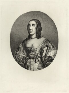 Anne (née de Vere), Lady Fairfax, after Gilbert Soest - NPG D28433