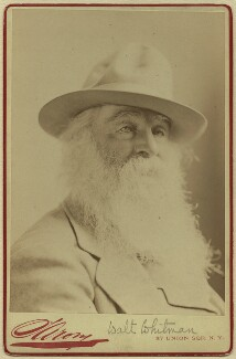Walt Whitman, by Napoleon Sarony - NPG x15420