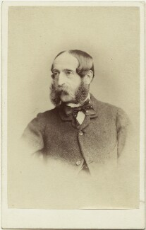 George John Whyte-Melville, by Thomas Rodger, 1860s - NPG Ax7524 - © National Portrait Gallery, London