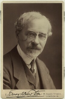 Ernest Newton, by Elliott & Fry, circa 1919 - NPG x21510 - © National Portrait Gallery, London