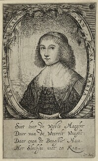 Anna Maria van Schurman, after Unknown artist - NPG D28457