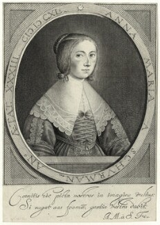 Anna Maria van Schurman, by Anna Maria van Schurman - NPG D28458