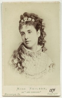 Adelaide Neilson as Amy Robsart in 'Kenilworth', by London Stereoscopic & Photographic Company - NPG Ax18178