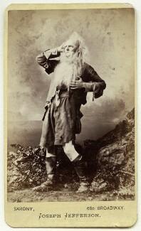 Joseph Jefferson as Rip van Winkle in 'Rip van Winkle', by Napoleon Sarony - NPG Ax18185
