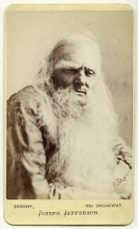 Joseph Jefferson as Rip van Winkle in 'Rip van Winkle', by Napoleon Sarony, 1870s (1869) - NPG Ax18186 - © National Portrait Gallery, London