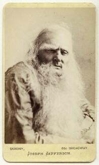 Joseph Jefferson as Rip van Winkle in 'Rip van Winkle', by Napoleon Sarony - NPG Ax18186