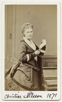 Christine Nilsson, by Augustin Aimé Joseph Le Jeune - NPG Ax18181
