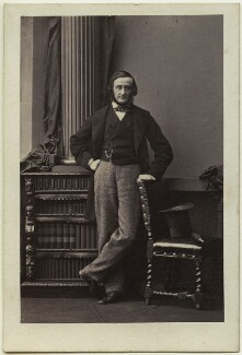 Sir Edward Clarence Kerrison, 2nd Bt, by Camille Silvy - NPG Ax87088