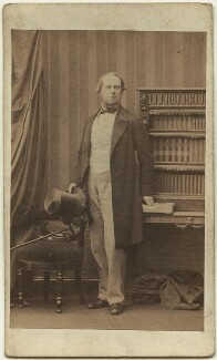 John Wodehouse, 1st Earl of Kimberley, by Camille Silvy, 31 May 1861 - NPG Ax8550 - © National Portrait Gallery, London
