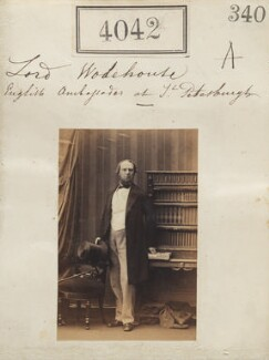 John Wodehouse, 1st Earl of Kimberley, by Camille Silvy - NPG Ax54057