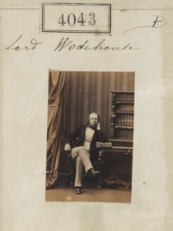 John Wodehouse, 1st Earl of Kimberley, by Camille Silvy, 31 May 1861 - NPG Ax54058 - © National Portrait Gallery, London