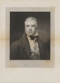 Sir Walter Scott, 1st Bt, by Edward Mitchell, after  Sir Henry Raeburn, (1822) - NPG D32443 - © National Portrait Gallery, London