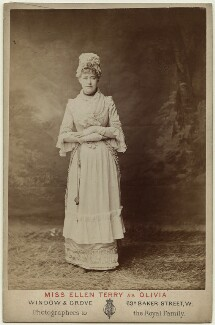 Ellen Terry as Olivia in 'Olivia', by Window & Grove - NPG x16987