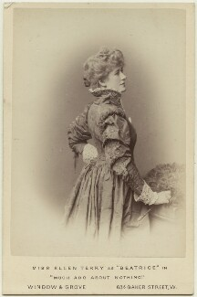 Ellen Terry as Beatrice in 'Much Ado About Nothing', by Window & Grove, 1882 - NPG  - © National Portrait Gallery, London