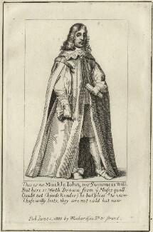 Archibald Armstrong, after Richard Gaywood, published by  William Richardson, published 1800 (1660) - NPG D28487 - © National Portrait Gallery, London