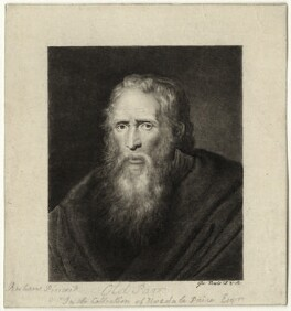 Thomas Parr, by George Powle, after  Sir Peter Paul Rubens - NPG D28498