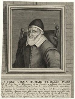Thomas Parr, by Habert - NPG D28500