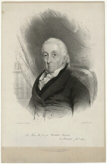 Sir George Burrard, Bt, by James Henry Lynch, after  George Cole - NPG D32447