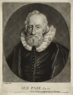 Thomas Parr, by George White - NPG D28501
