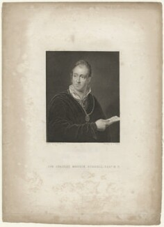 Sir Charles Merrik Burrell, 3rd Bt, by Joseph John Jenkins, after  Ramsay Richard Reinagle - NPG D32448